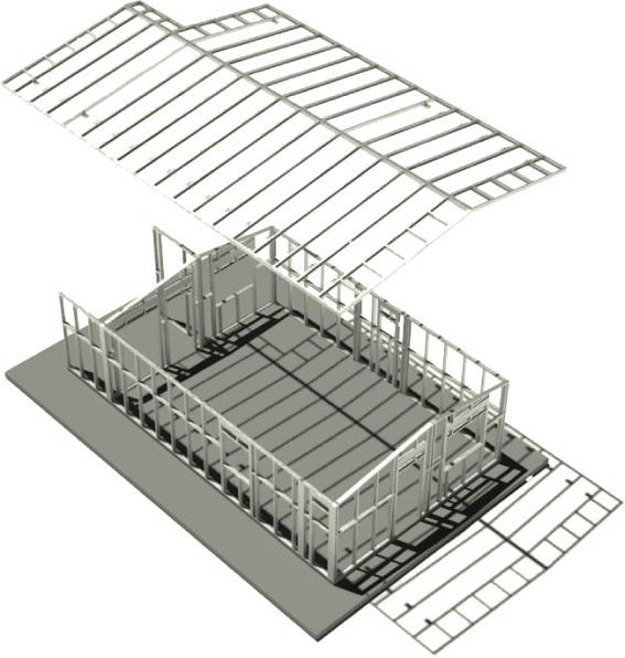 Casasindustriales.com - STEEL FRAME SYSTEM